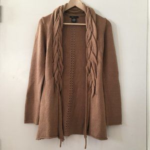 BCBGMaxAzria Chunky Knit Cable Duster Cardigan